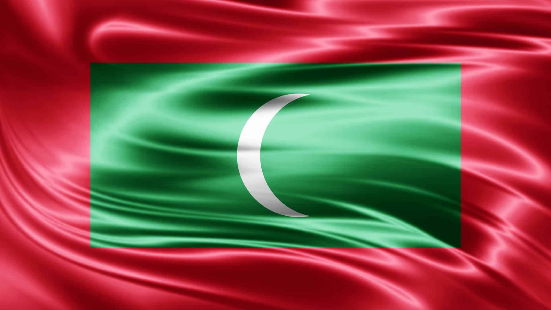 Flag of the Republic of Maldives