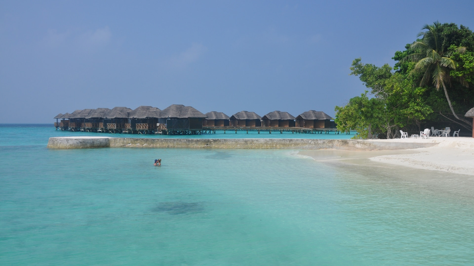 Vacation in the Maldives