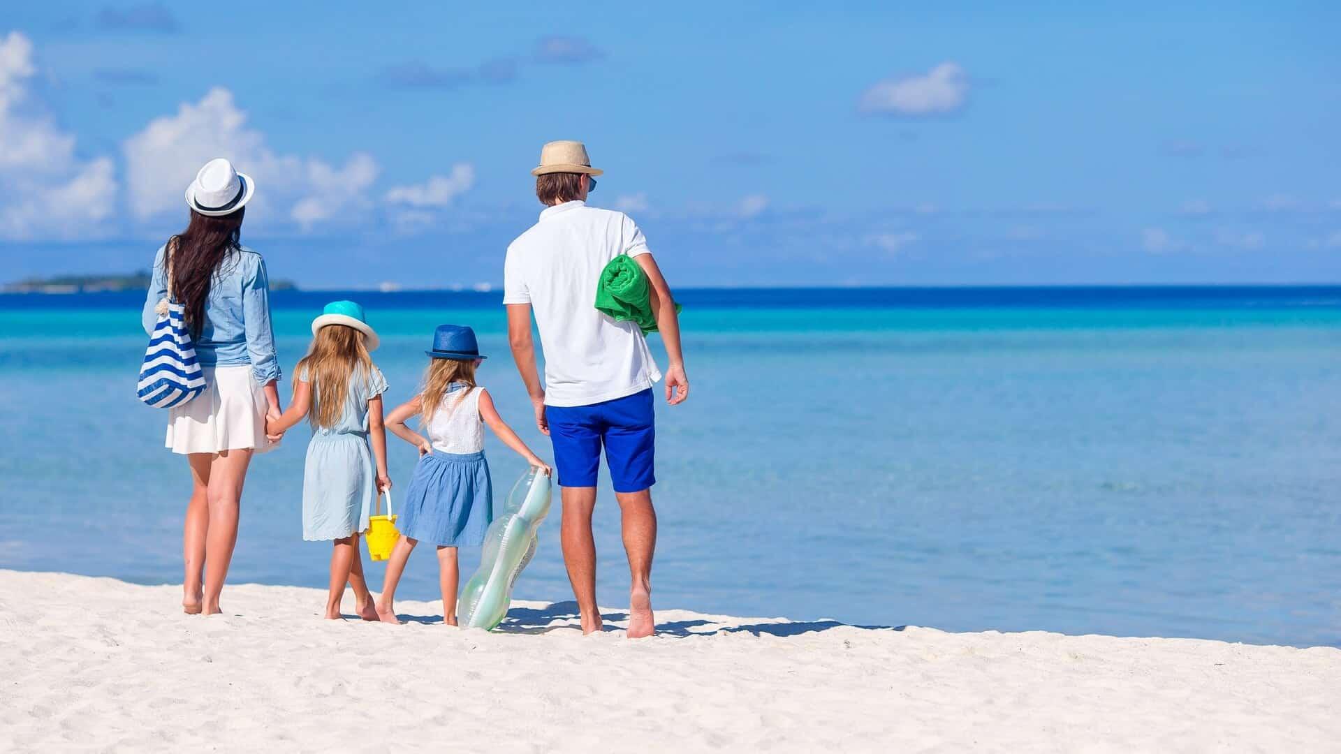 Семейный отдых на Мальдивах