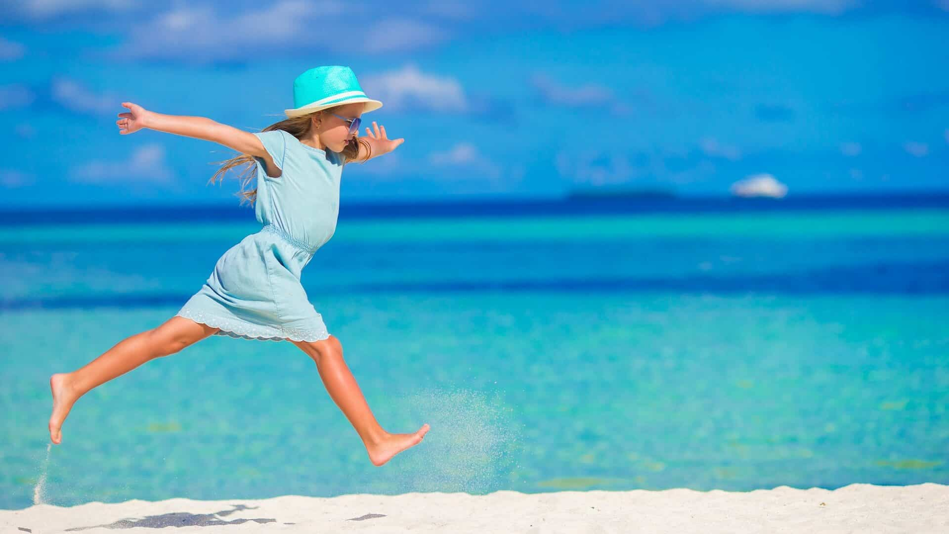 The Maldives with children