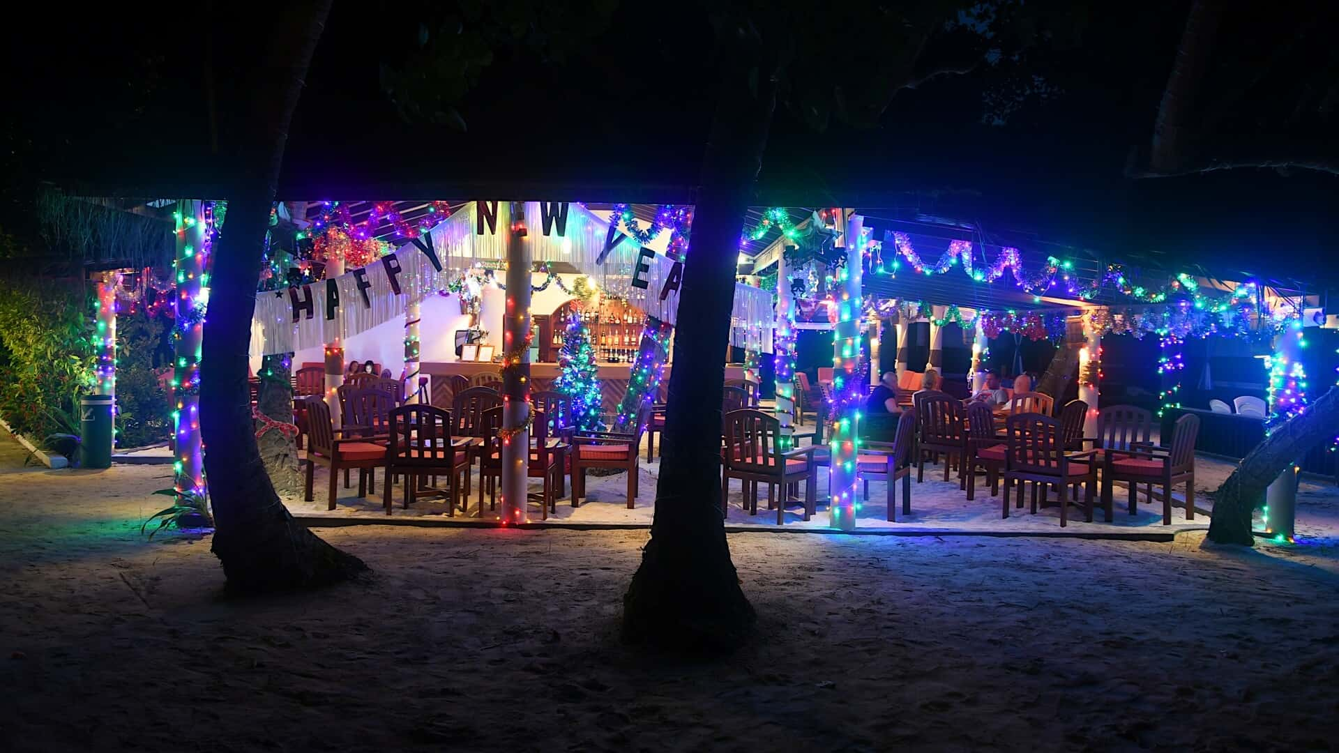 New Year's Eve in the Maldives