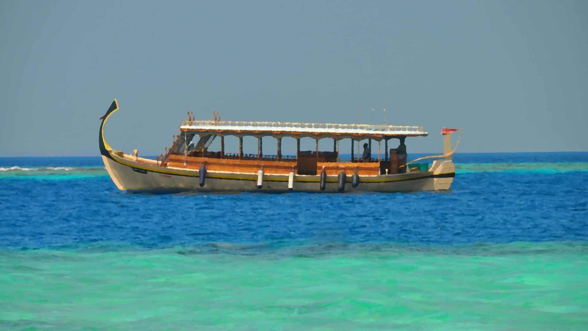 Сказка лодка Мохана